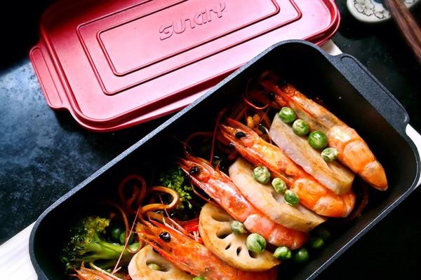焗虾便当的做法_【图解】焗虾便当怎么做如何做好吃