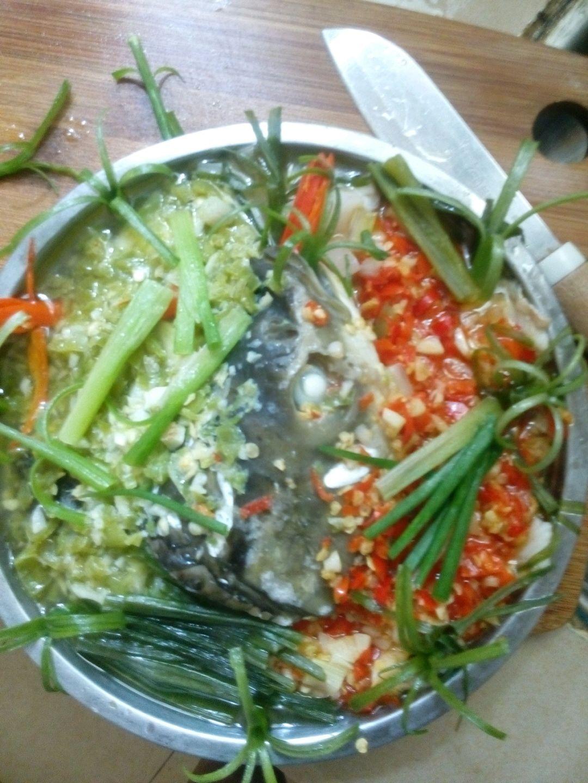 剁椒蒸鱼的做法步骤