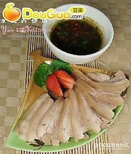 京式白切肉的做法