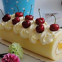 水果蛋糕卷装饰_【图】奶油水果装饰蛋糕卷做法图解_图老师tu