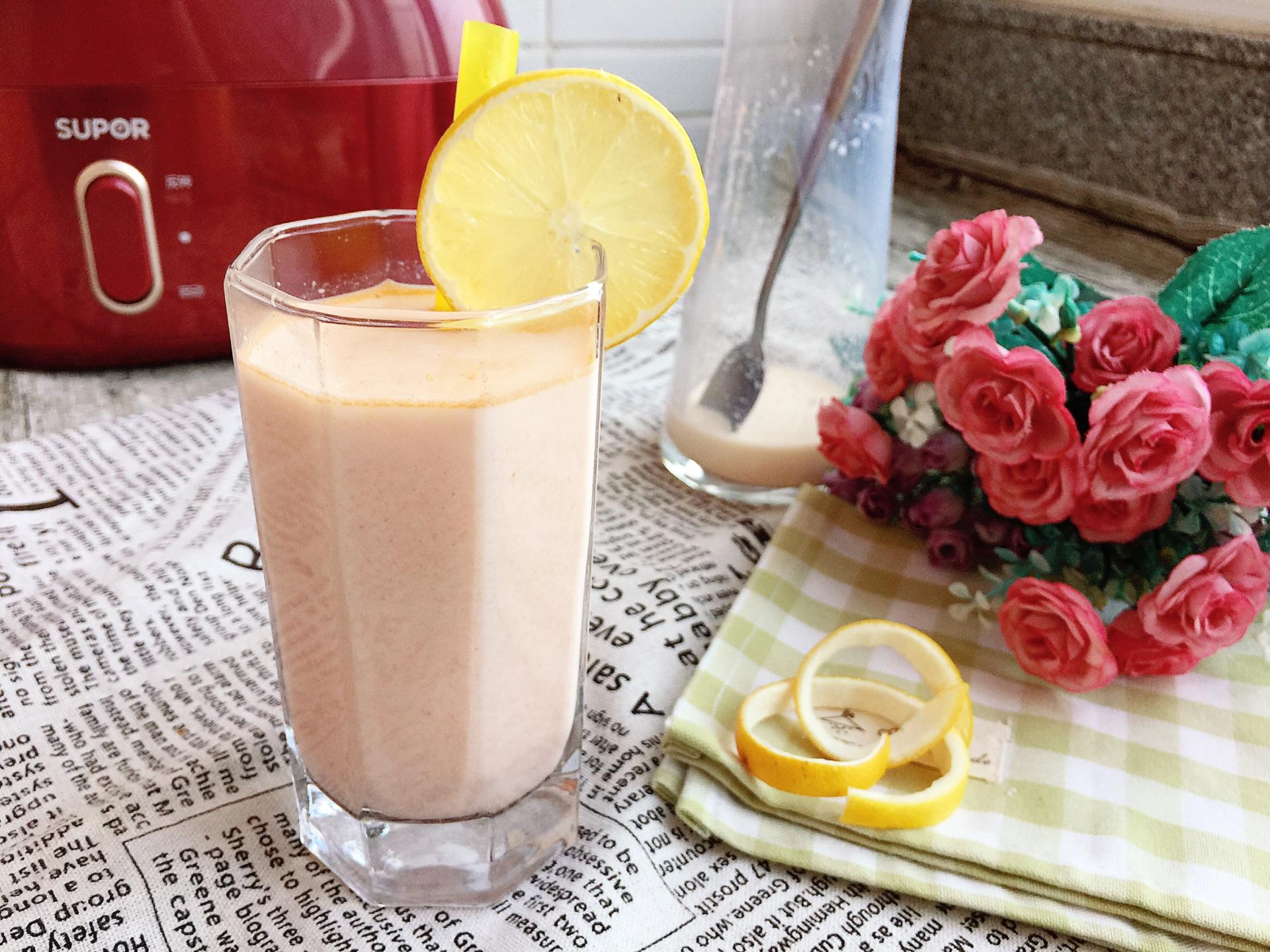 木瓜牛奶汁#胃,我养你啊#的做法图解7