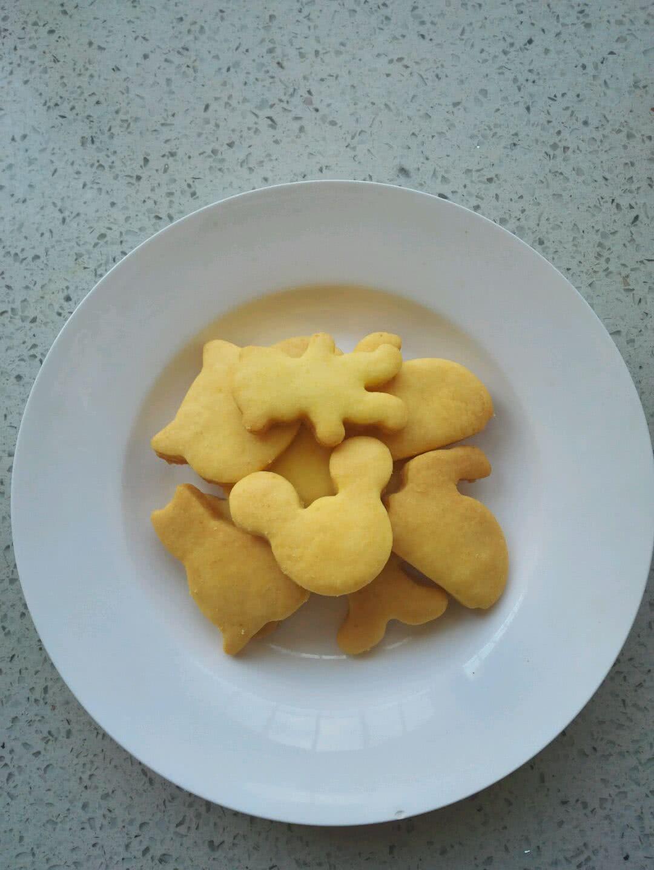 可爱蛋黄小饼干的做法图解8