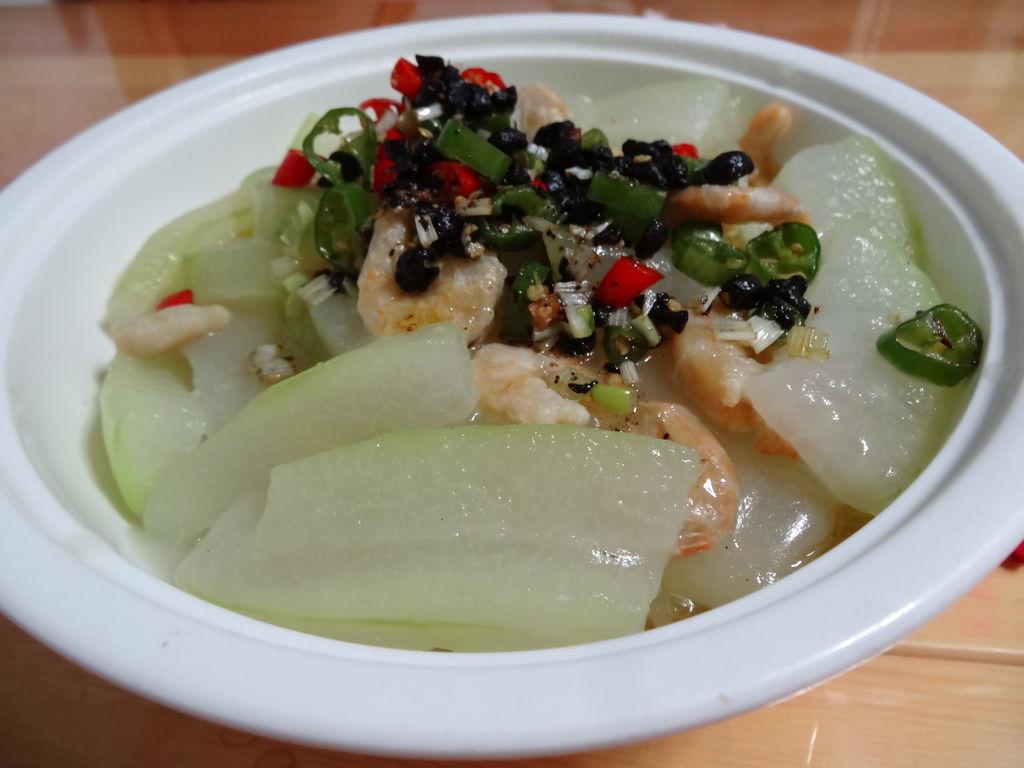 豉汁海米冬瓜