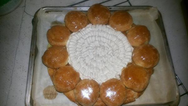 泡芙蛋糕的做法_【图解】泡芙蛋糕怎么做好吃