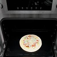 海鲜什锦比萨的做法图解4