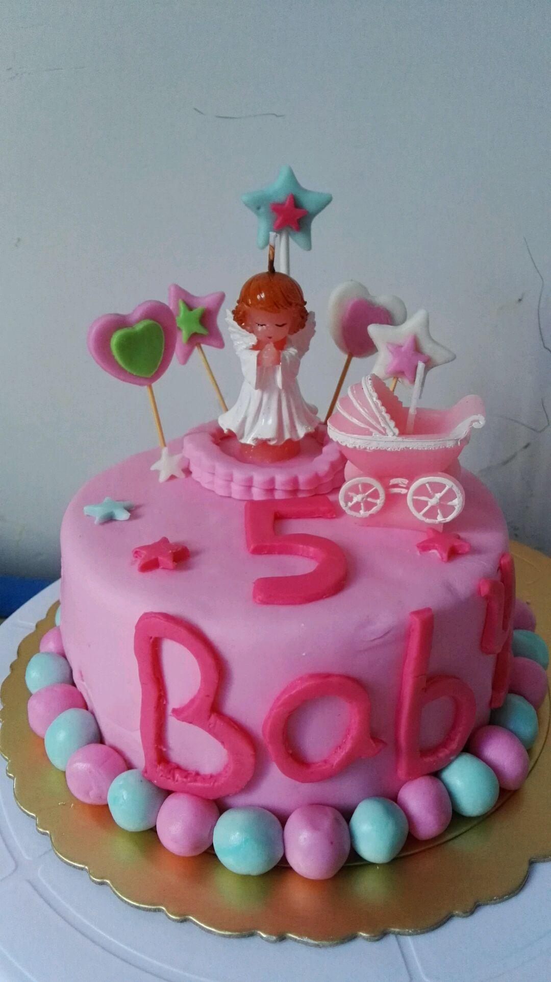 萌萌儿童翻糖蛋糕
