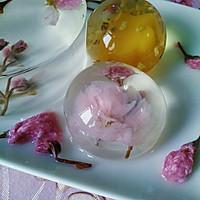 花之语水晶玄饼(可以吃的茶冻。美的不忍下口)的做法图解16