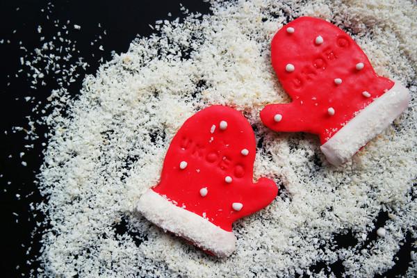 圣诞手套饼干