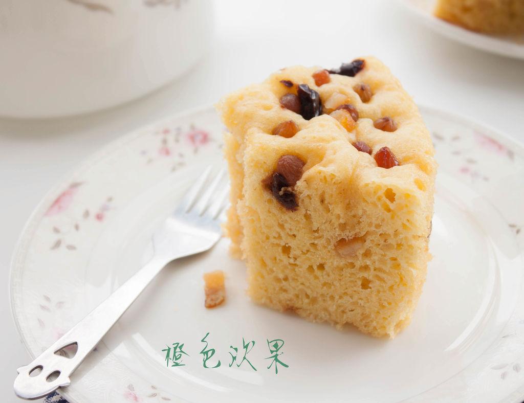 40g 糖渍橙皮丁 20g 红枣碎10g 玉米面发糕--懒人的美味的做法步骤 小
