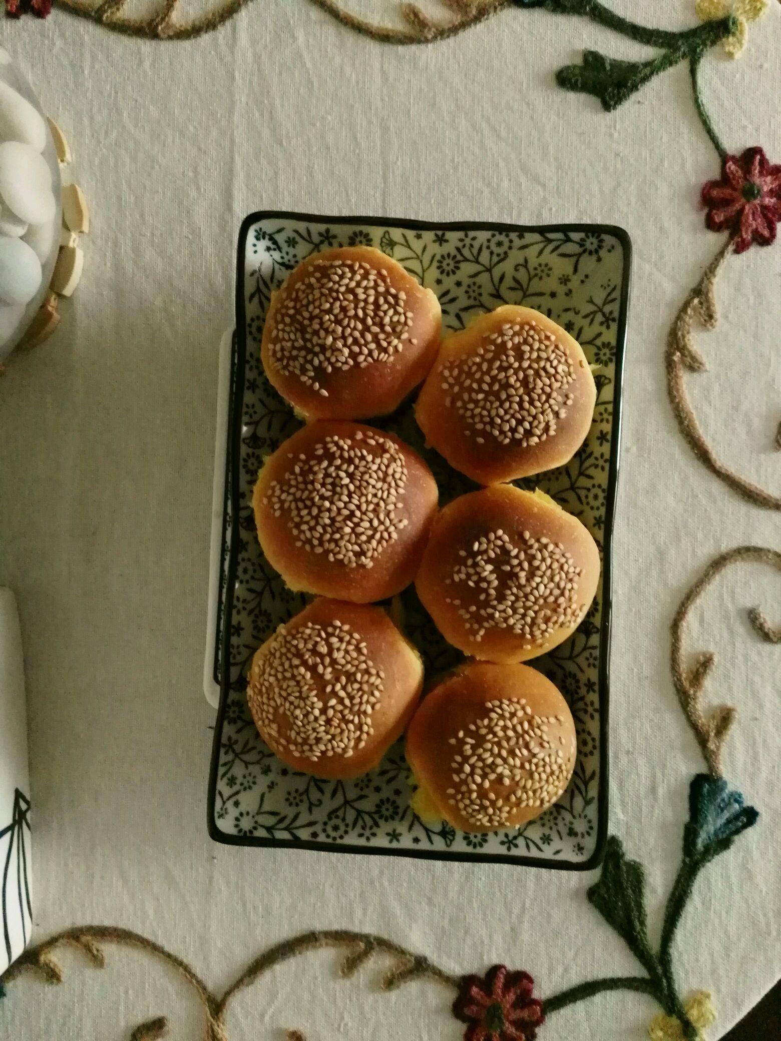 南瓜小面包的做法步骤