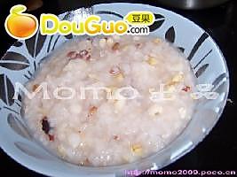 茨实薏米粥的做法