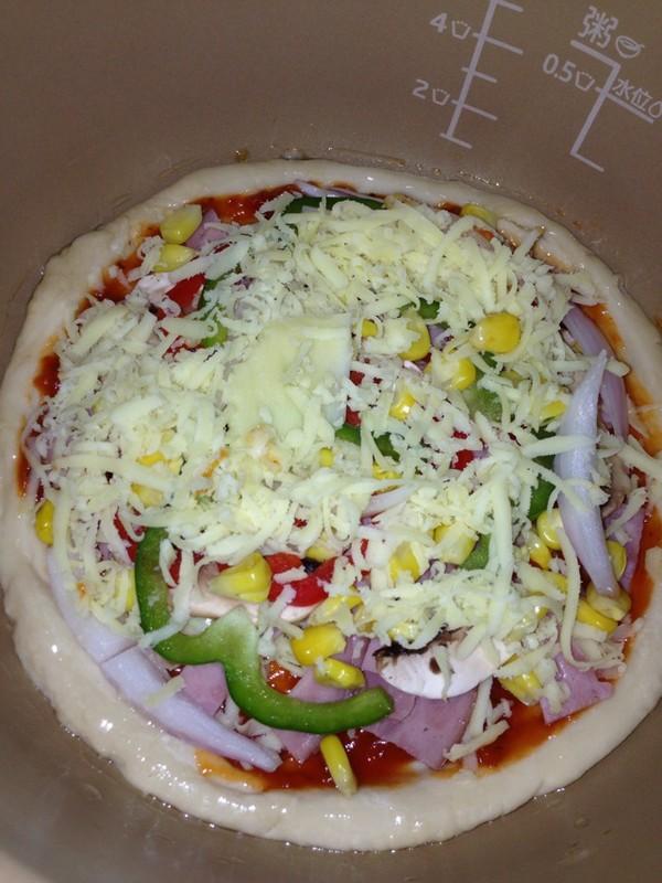 电饭煲披萨的做法步骤