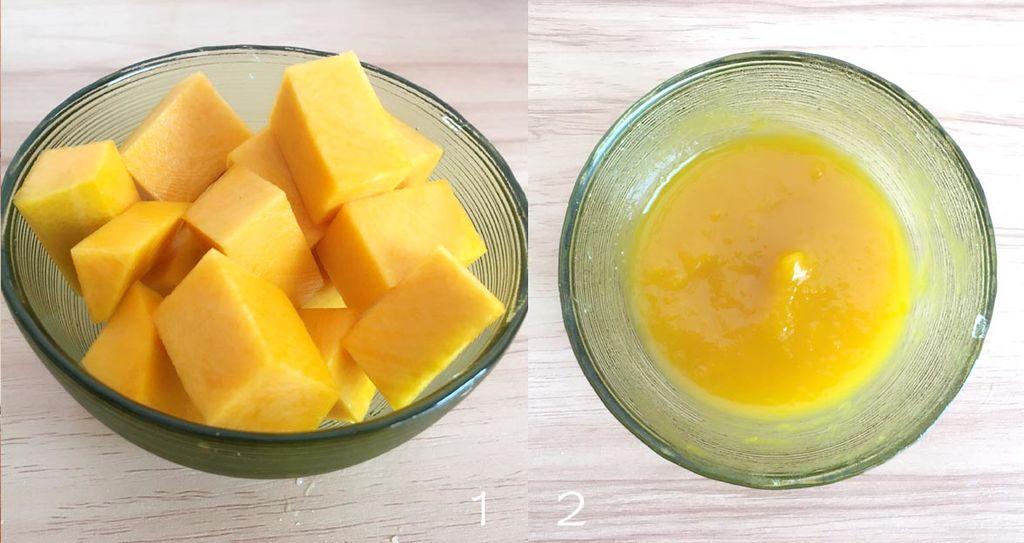 柔软胡萝卜造型馒头的做法