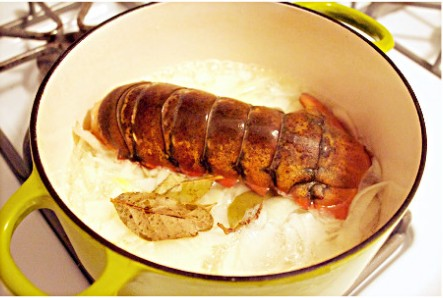香酥烤龙虾尾的做法图解2