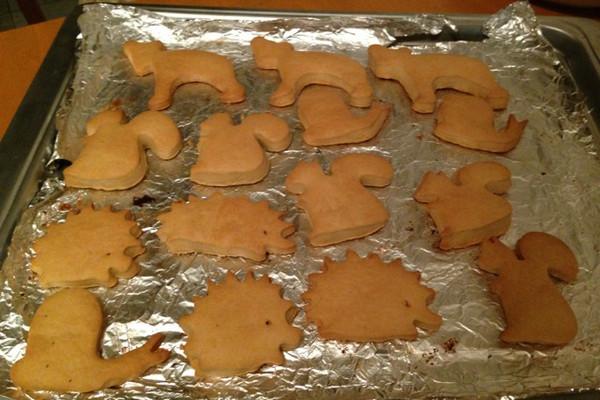 小动物消化饼干的做法