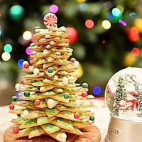 童话世界-圣诞姜饼屋和圣诞树的做法图解27