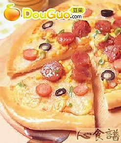 腊肠披萨的做法