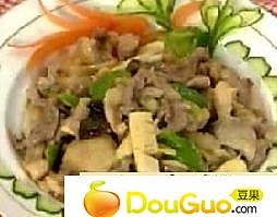 芽姜炒鸭片的做法