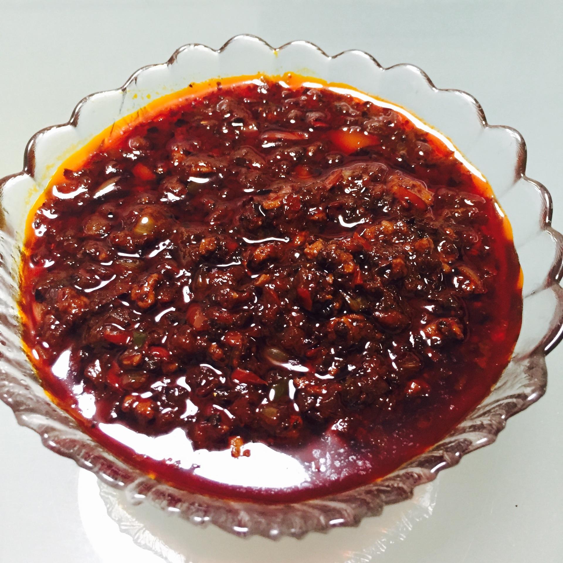 牛肉辣椒酱的做法图解12