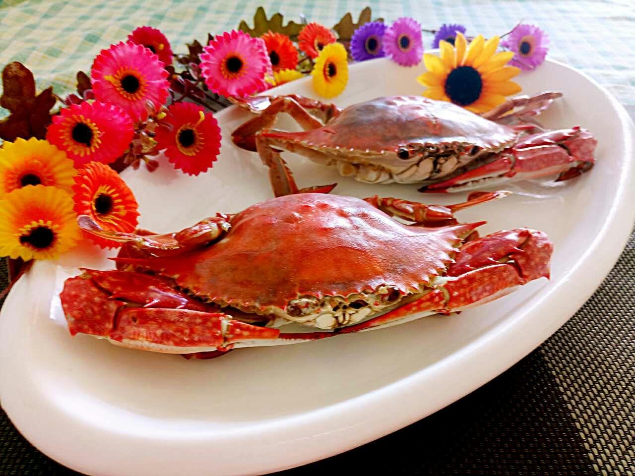 烤螃蟹的做法图解8