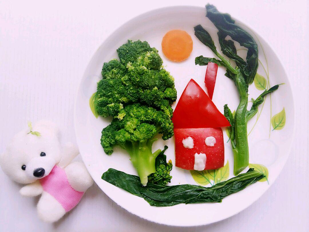 水果和蔬菜为幼儿和儿童