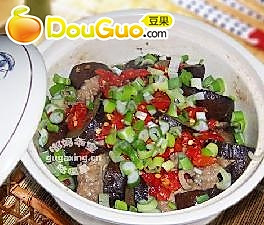 茄子酿肉煲的做法