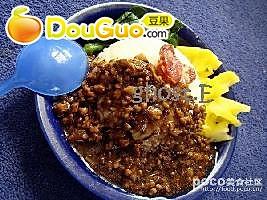 香菇肉燥拌饭的做法