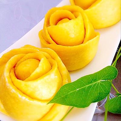 玫瑰花卷的做法_【图解】玫瑰花卷怎么做好吃