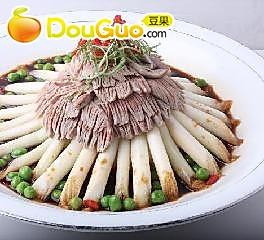 腰花蒲菜的做法
