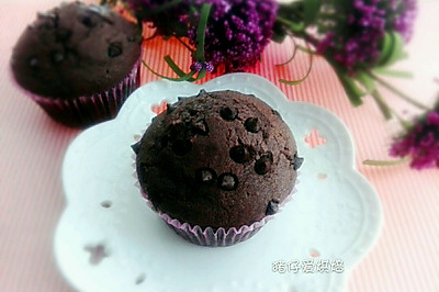 巧克力麦芬蛋糕(超柔软)