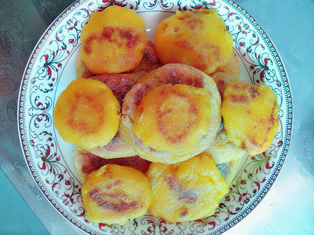 南瓜饼的做法步骤 1