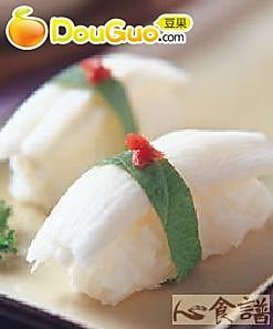 山药握寿司的做法