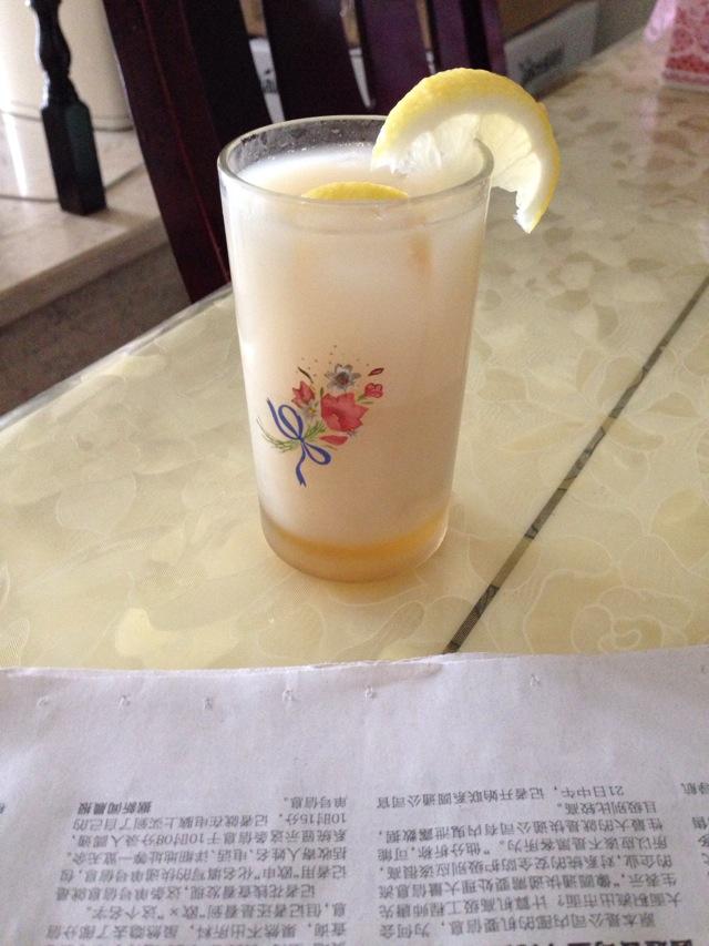 柠檬绿茶养乐多