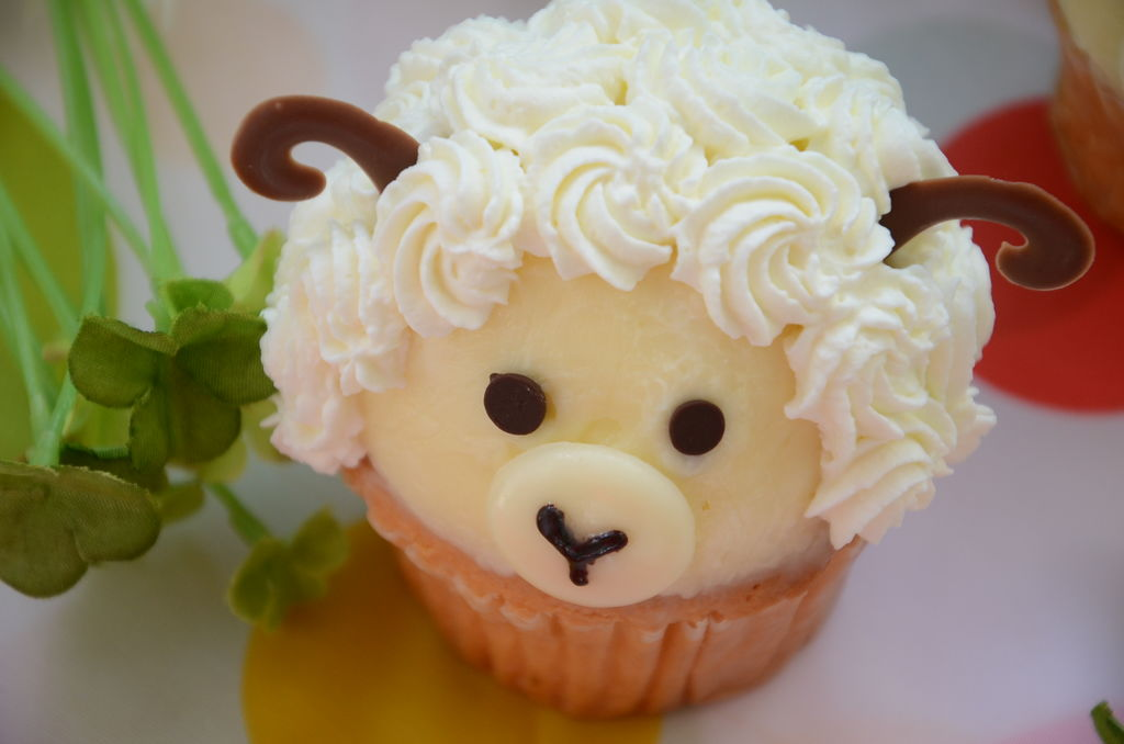 小羊纸杯蛋糕