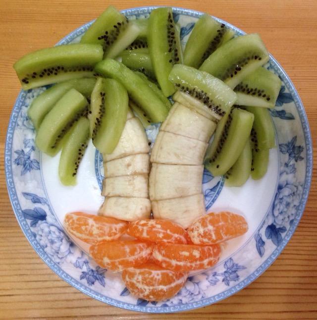 水果拼盘·椰子树