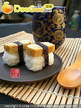 酱油玉子烧寿司的做法