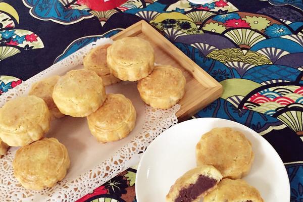 奶油皮月饼#长帝烘焙节(半月轩)#的做法_【图解】奶油