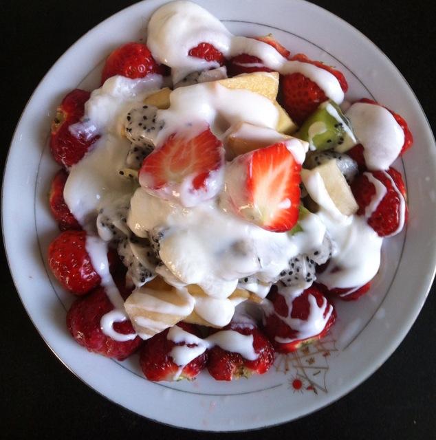 酸奶水果沙拉的做法步骤