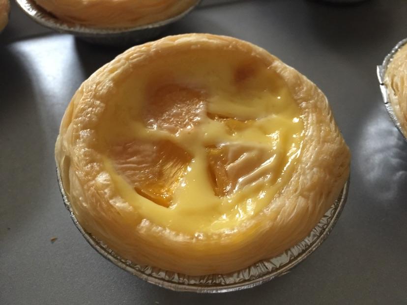黄桃蛋挞的做法图解6