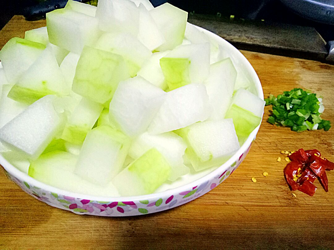 红烧冬瓜的做法_【图解】红烧冬瓜怎么做如何做好吃