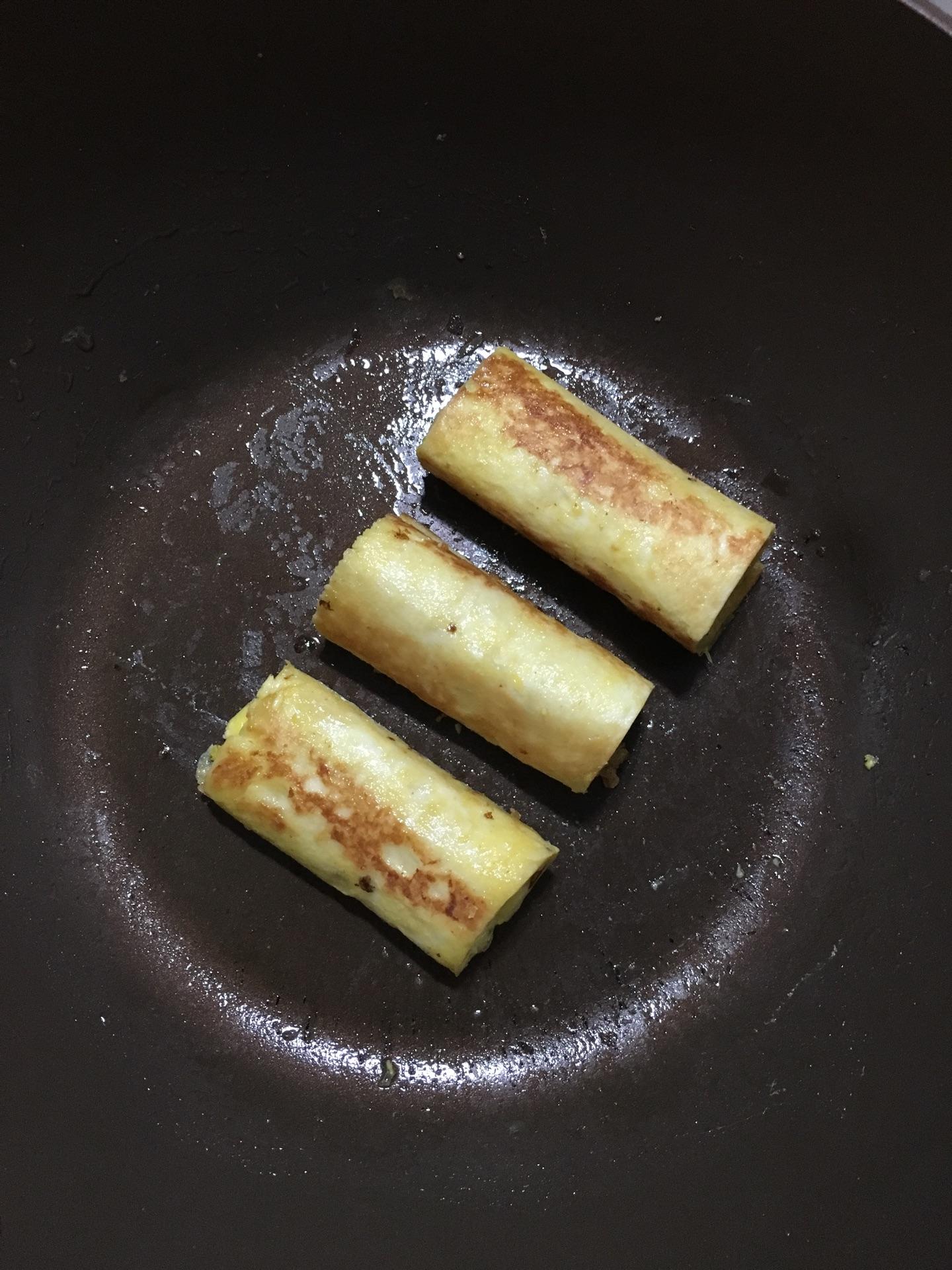 黄瓜面包卷的做法图解4