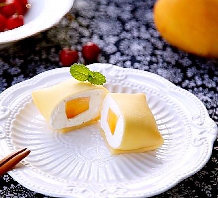 【一学就会甜品】芒果班戟 水果班戟