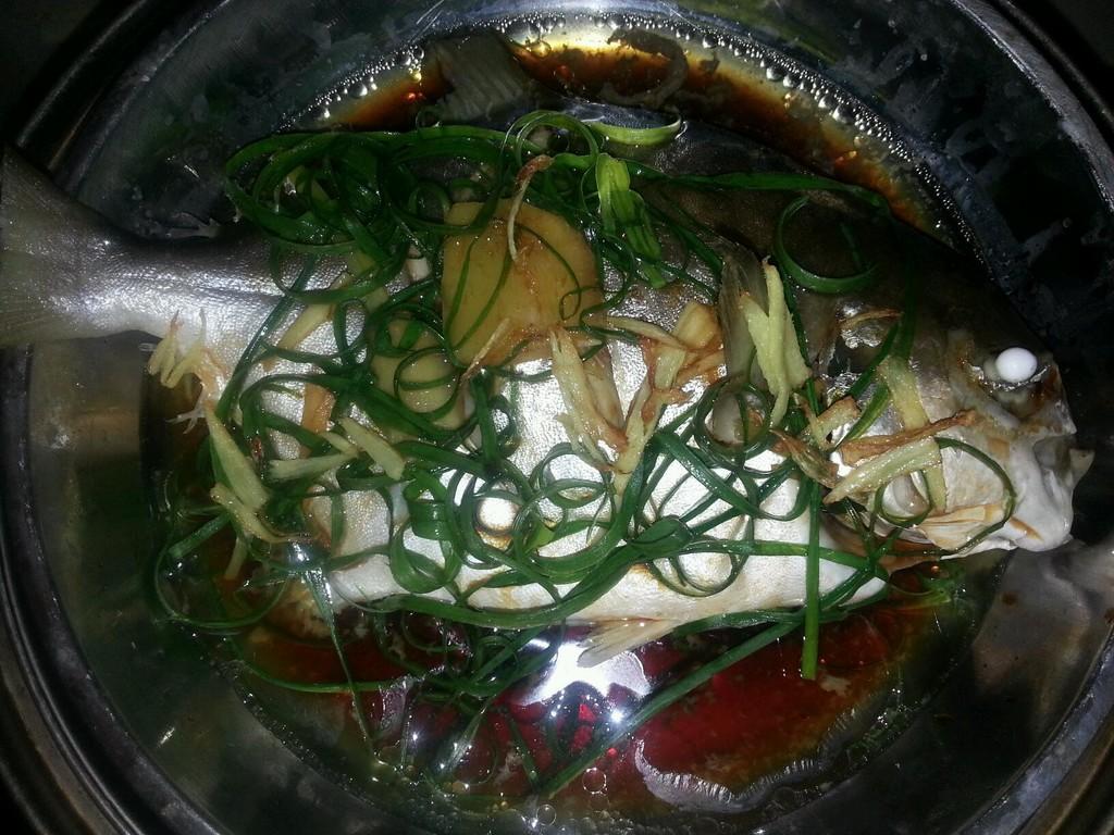 海鲳半斤/尾辅料油盐步骤蒸海鲳鱼的小孩酱油本时间的菜谱榨菜汁菜煮多长做法图片