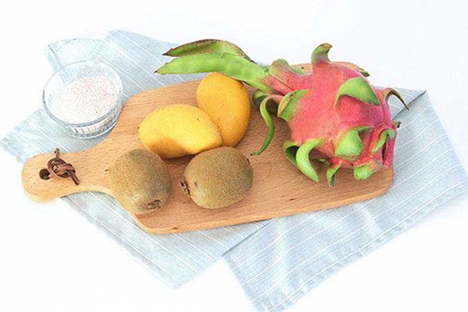 水果藕粉糊 宝宝辅食微课堂的做法图解1