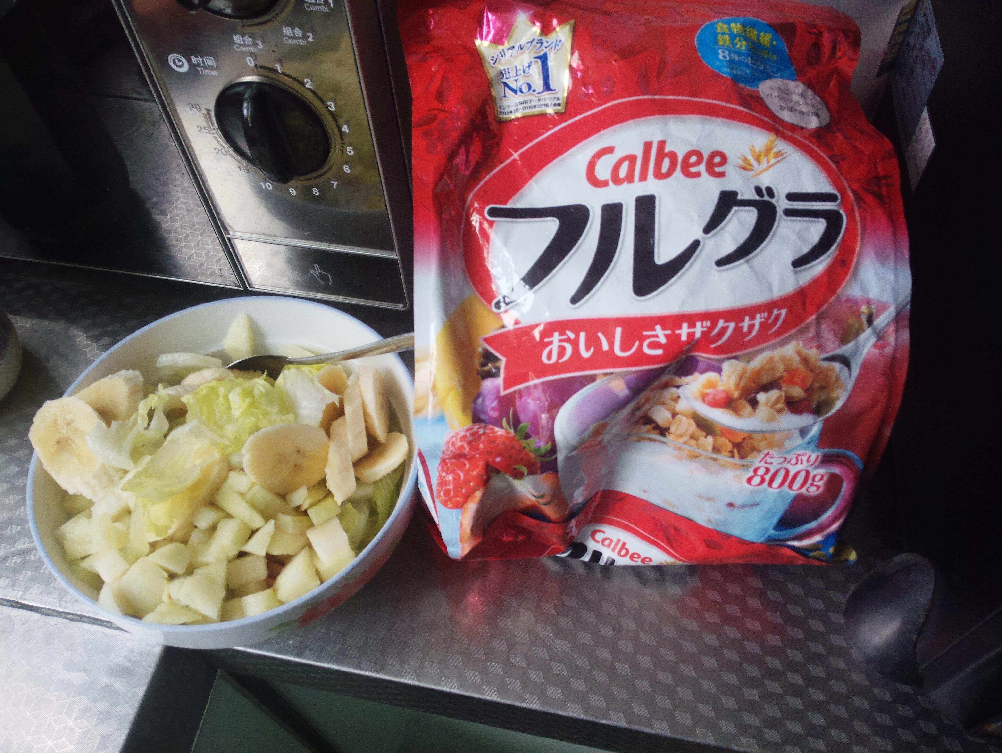水果麦片沙拉的做法步骤
