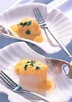 咖哩焗鲜贝的做法