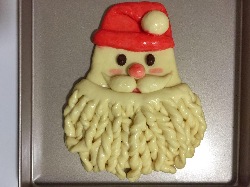 圣诞老人面包#爱仕达寻找面点女王#的做法图解15