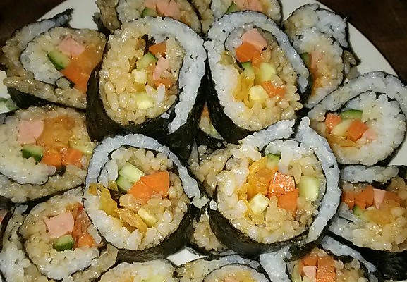 寿司的做法 材料 步骤