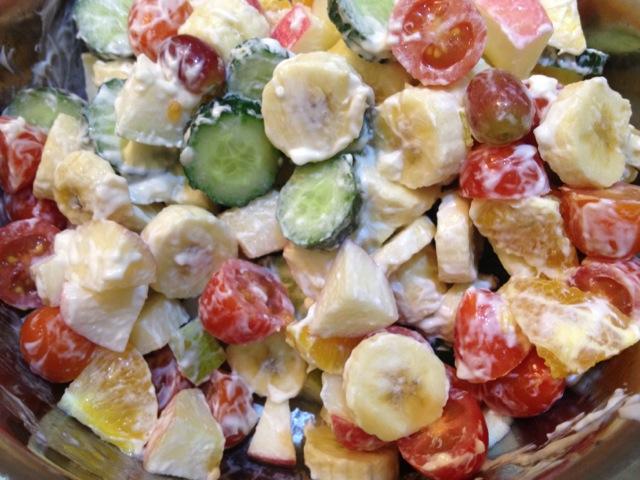 什锦水果沙拉的做法步骤