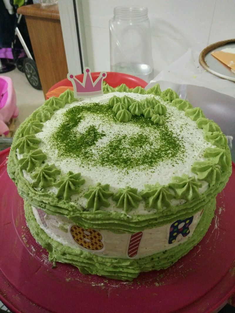 全蛋海绵水果奶油蛋糕(8寸圆模)